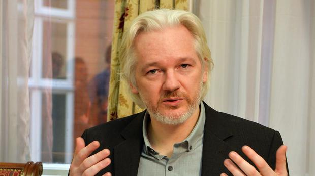 Julian Assange has been living inside the Ecuadorian embassy for over three years