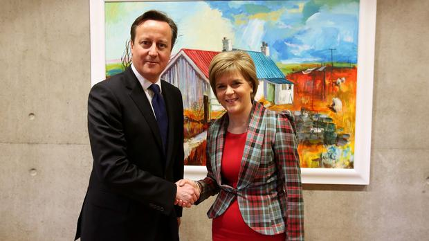 Nicola Sturgeon is meeting David Cameron at Downing Street