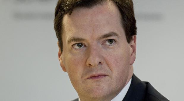 George Osborne was accused of planning to water down rules to hold top bankers to account