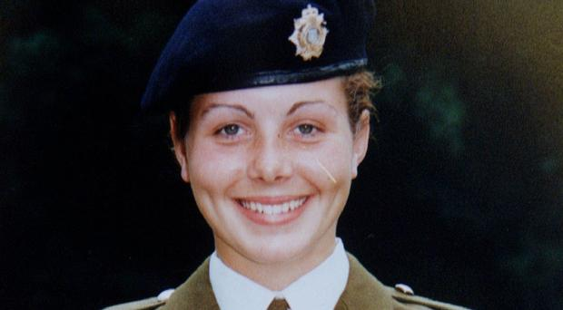 Private Cheryl James was found dead from a gunshot wound at Deepcut Barracks in November 1995