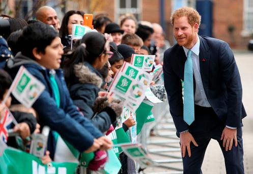 Prince Harry opens the hospital's new home