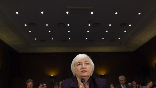 Janet Yellen has signalled recently that a rise in US rates is a near certainty this month (AP)