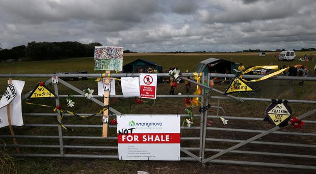 Labour said 'ministers are ignoring people's legitimate concerns and imposing fracking on communities'