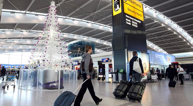 December 18, December 23 and December 30 are thought to be the busiest dates for travel