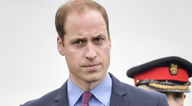 The Duke of Cambridge sees such papers 'occasionally', the BBC said