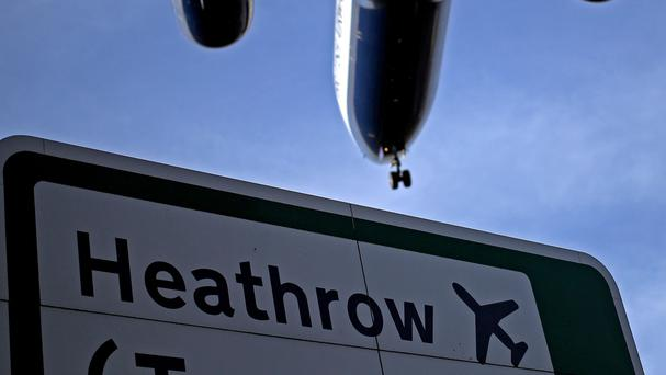 The incident happened at Heathrow's Terminal 5