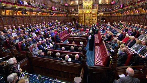 A review of the powers of the House of Lords is expected to recommend new curbs on their ability to block legislation