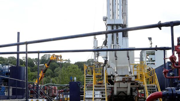 Licences have been granted for onshore gas and oil exploration in 159 blocks
