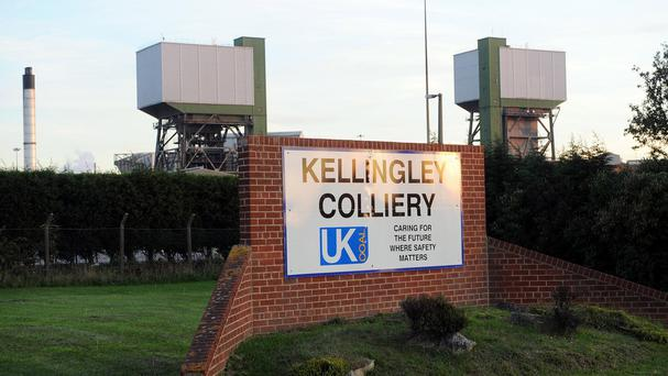 Miners at Kellingley Colliery, the UK's last deep coal mine, are working their final shifts