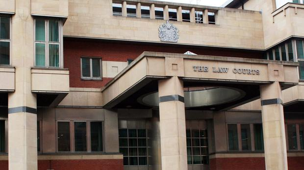The witness told Sheffield Crown Court she had told the officer what was happening