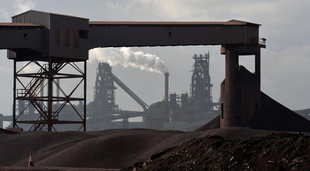The Tata Steel Plant in Scunthorpe is among those to have seen thousands of jobs losses in recent months