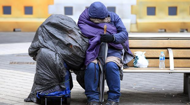 Labour says homeless numbers have soared under the Tory Government