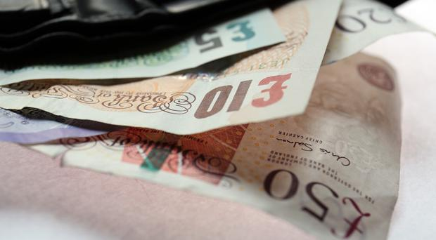 The Office for Budget Responsibility said household debts would reach £40 billion this year