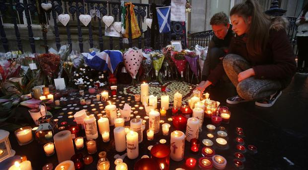 Glasgow Cathedral is to hold a remembrance service a year after the bin lorry crash tragedy