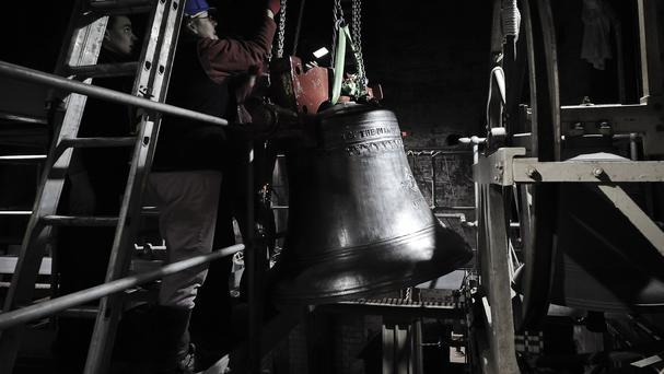 Bell ringers ended a two-and-a-half year strike