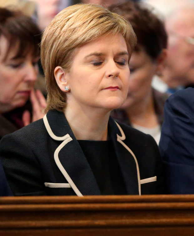 Tribute: Nicola Sturgeon