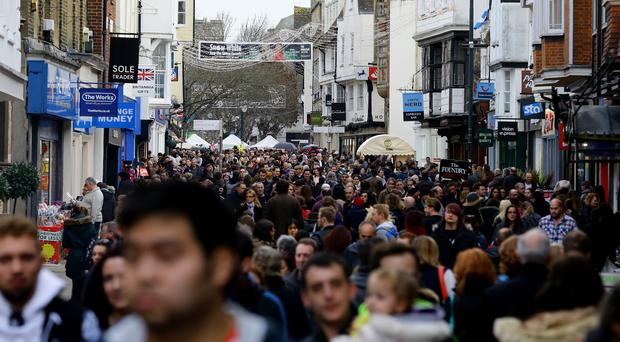 Shoppers are expected to flood the high street in search of last-minute Christmas provisions