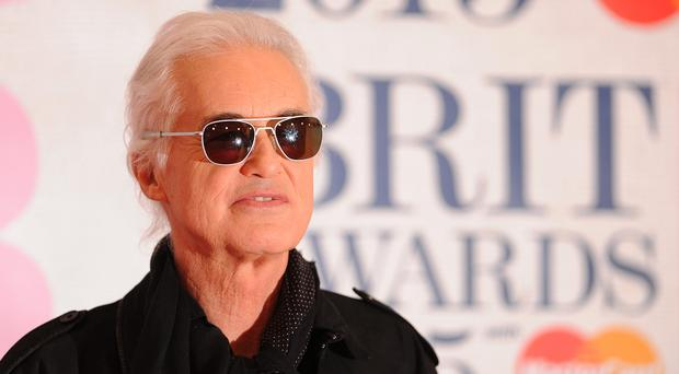 A house in the Highlands formerly owned by Led Zeppelin star Jimmy Page has been largely destroyed in a fire