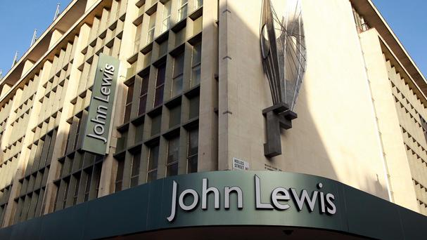 Department chain John Lewis posted strong sales in the final full week before Christmas