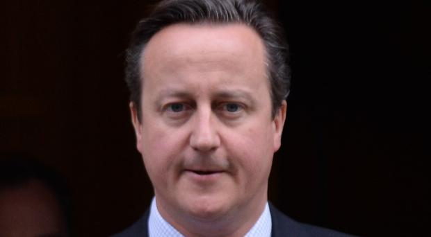 David Cameron highlighted the importance of peace and security