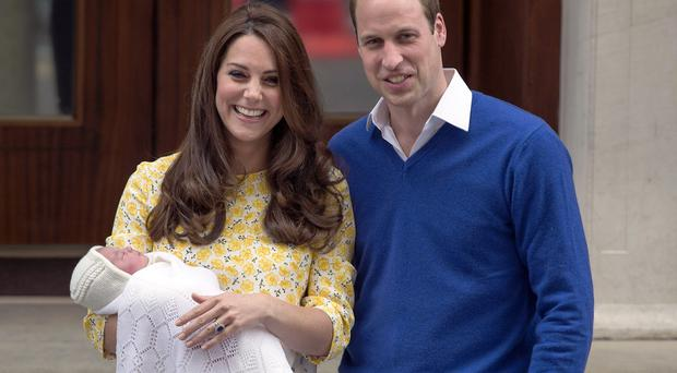 Princess Charlotte was born on May 2, 2015, weighting 8lbs 3 oz.
