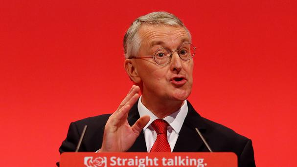 Shadow foreign secretary Hilary Benn spoke in favour of UK military action in Syria