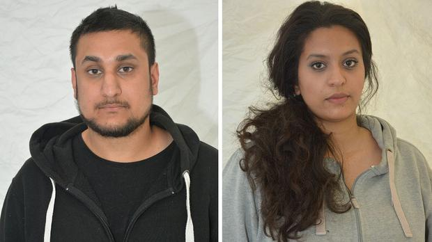 Mohammed Rehman and his secret wife Sana Ahmed Khan were found guilty at the Old Bailey of planning a massive terror attack on London