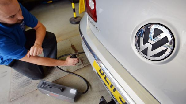 The emission scandal has cost Volkswagen billions of pounds