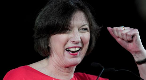 TUC general secretary Frances O'Grady called for an end to the UK's 'two speed' economy