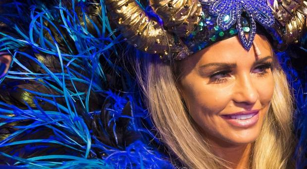 Katie Price stars as the Wicked Fairy in the pantomime Sleeping Beauty