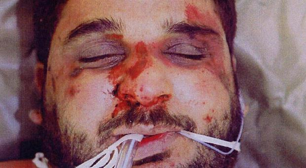 Baha Mousa was beaten to death by British soldiers in Basra in 2003 (Liberty/PA)