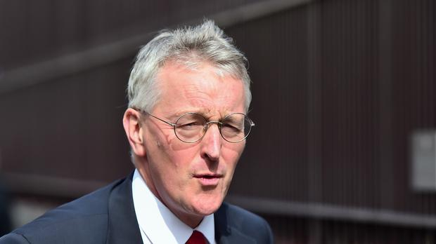 Shadow foreign secretary Hilary Benn said it was
