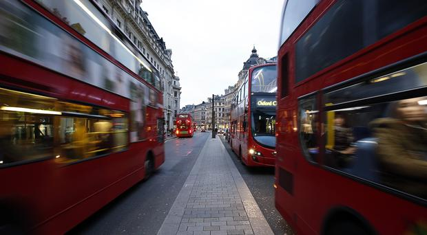 The buses will be retrofitted with technology to reduce nitrogen oxide emissions