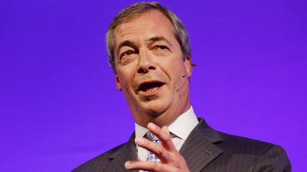 Ukip leader Nigel Farage said police told him all the wheel nuts had been loosened on his car