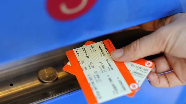 The Government has been accused of profiting from rail commuters