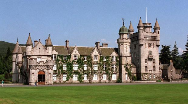 Royal residence Balmoral is close to Abergeldie Castle