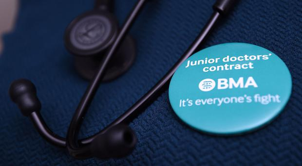 Junior doctors are in dispute with the Government