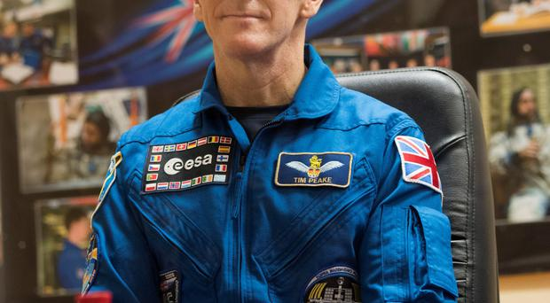 Space address: Tim Peake