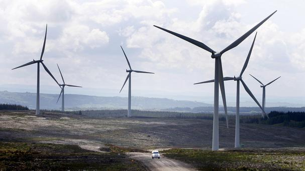 Wind power generated more than a tenth of the UK's electricity in 2015