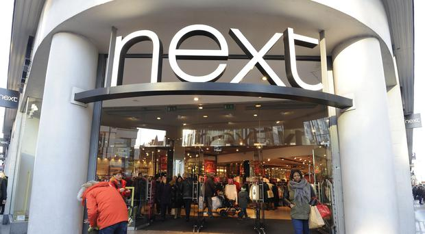 Sales at Next's high street stores have fallen by 4.7%