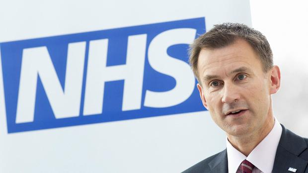Health Secretary Jeremy Hunt insisted talks were on track