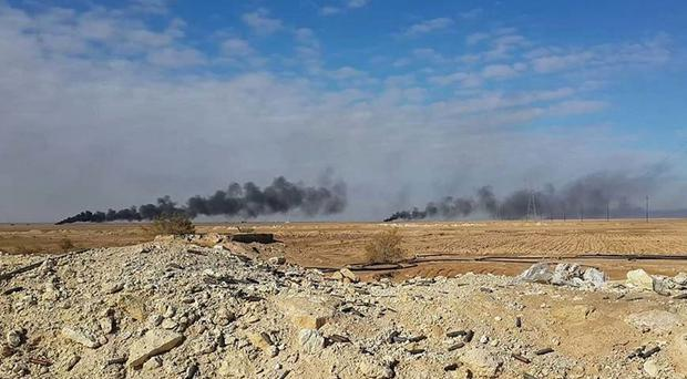 Experts were said to be shocked by the weapons capability of Islamic State fighters