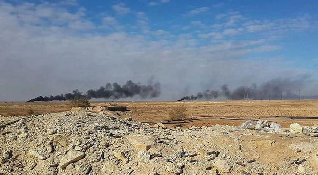 Experts were said to be shocked by the weapons capability of Islamic State fighters.