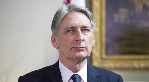 Foreign Secretary Philip Hammond is meeting his Japanese counterpart