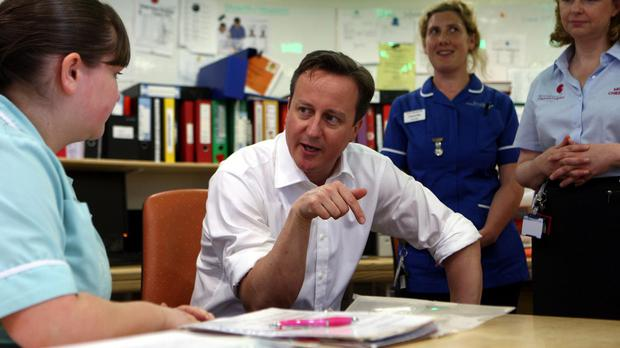 Prime Minister David Cameron has been warned about the pressures facing the NHS
