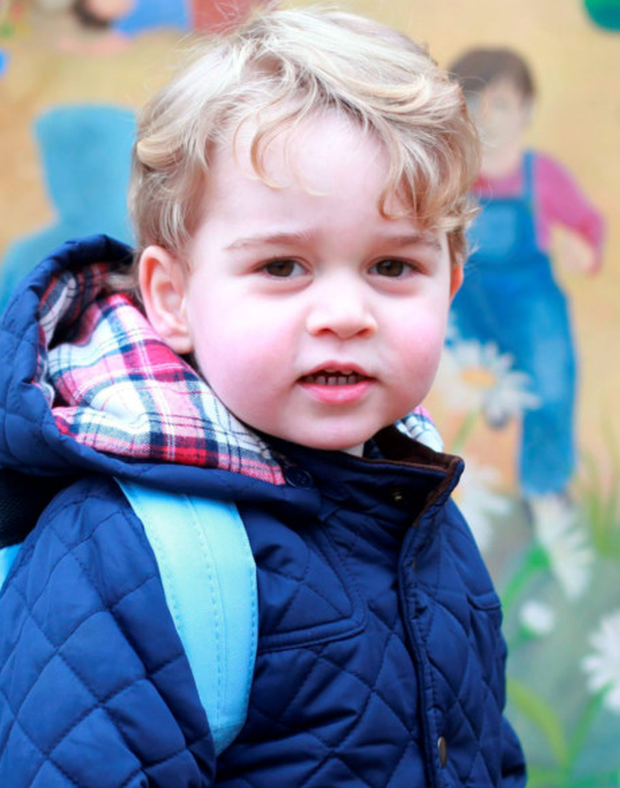 Spoilt rotten: Prince George
