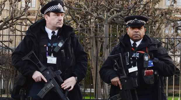 The number of armed police officers in London could be set to rise