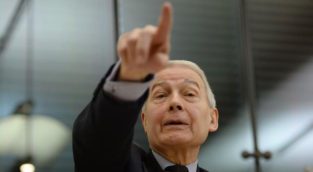 Frank Field raised concerns about the sanctions regime