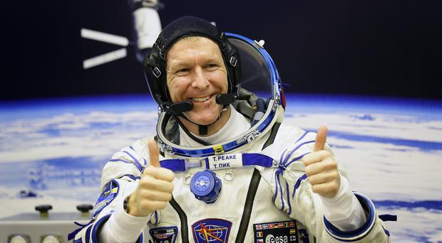 The spacewalk will be the first for Major Tim Peake