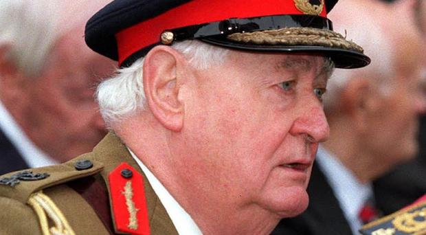 Lord Bramall, the UK's former highest-ranking soldier, who has been told he faces no further action after being interviewed as part of a police investigation into historic child sex abuse
